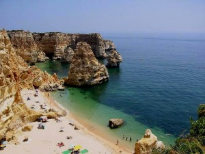 Die Algarve in Portugal