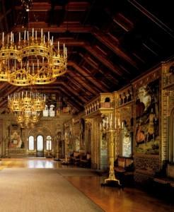 Schloss Neuschwanstein Saal der Sänger