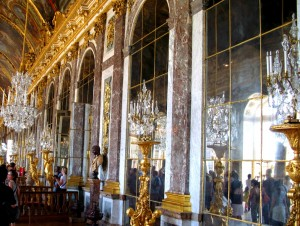 Der Spiegelsaal im Chateau de Versailles