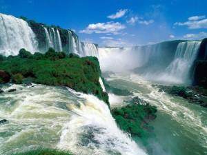 Iguassu Fälle in Brasilien