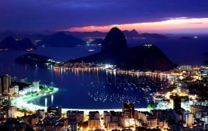 Rio bei Nacht