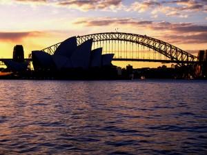 Australien - Sydney Harbour Bridge und Openrhaus