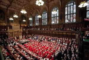 Wie groß ist das englische Parlament