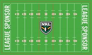 Rugby-Spielfeld