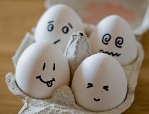 Lustige Eier