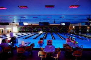 Eine Moderne Bowlingbahn