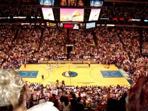 Dirks Spielfeld in Dallas