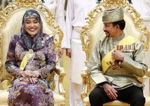 Die glücklichen Brauteltern