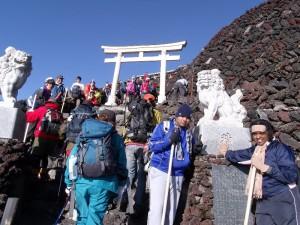 Auf den Weg zum Gipfel