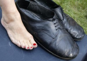 Der größten Schuhe der Welt