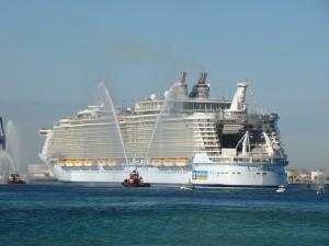 Größte Kreuzfahrtschiff der Welt