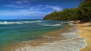 Ein kleiner Strand auf Hawaii