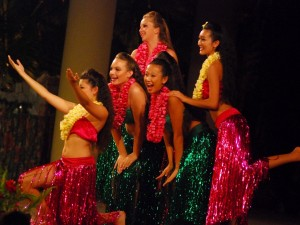 Hula Tanz Show auf Hawaii