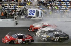 Motorsport Unfall