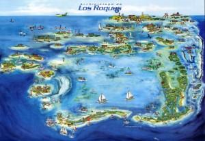 Postkarte von Los Roques