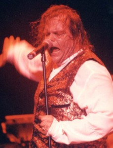 Meat Loaf in Action