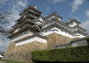 Burg Himeji in Japan