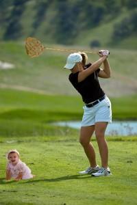 Die falsche Golfschlägerwahl kann zu Problemen führen