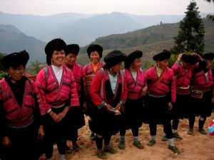 Frauengruppe aus Yao