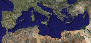Das Mittelmeer aus dem Al