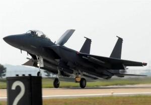 F-15K Slam Eagle beim Start
