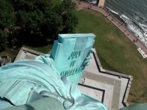 Statue of Liberty - Blick von Oben