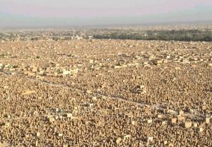 Der größte Friedhof der Welt -  Der Wadi Al-Salam im Irak