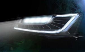 Audi-A8-Matrx Beam Scheinwerfer