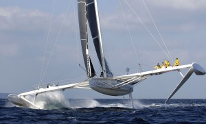 l´Hydroptere- das schnellste Segelboot der Welt
