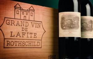 Chateau Lafite - immer in der oberen Wein Preisklasse