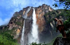 Der höchste Wasserfall der Welt in Venezuela