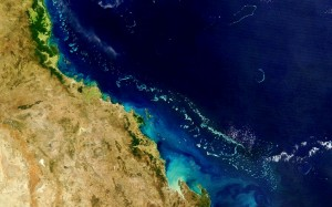 Great Barrier Reef aus dem All